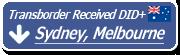 Transborder Australia: Sydney, Melbourne Received DID+