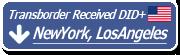 Transborder USA: NewYork, LosAngeles Received DID+